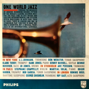 V/A - One World Jazz (LP) (G/G++)